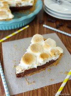 Smores Chocolate Pie