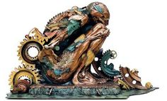Optically Addicted: The Multi Layered Bronze Sculptures of Master...