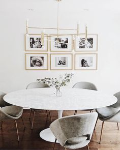 "13.4k Likes, 84 Comments - west elm (@westelm) on Instagram: ""Our Upholstered Orb Dining Chairs make for one well-rounded dining room. Shop on westelm.com!…"""