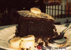ΤΟ σοκολατένιο κέικ μπανάνας