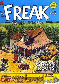 The Fabulous Furry Freak Brothers #5 by Gilbert Shelton (underground comics)