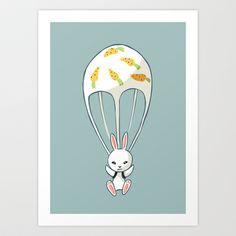 Funny Bunnies, Cute Bunny, Bunny Art, Green Art, Cute Images, Creative Art, Original Art, Canvas Art, My Arts