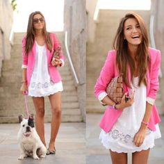 love this pink jacket