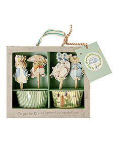 Love this Peter Rabbit & Friends Cupcake Set on #zulily! #zulilyfinds