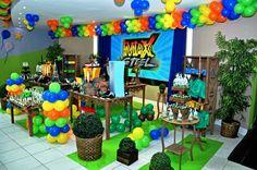 festa do max steel - Pesquisa Google