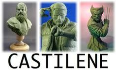 Castilene is a modeling compound now sold by Chavant that works like wax but models like clay.