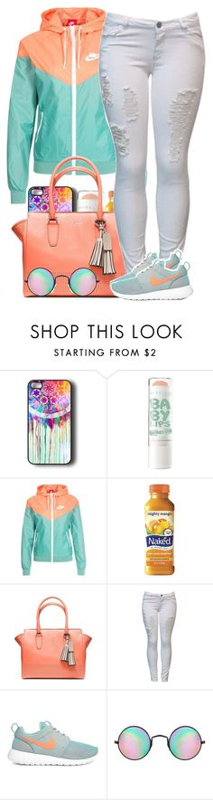 """""""In the Ferrari or Jaguar, switchin four lanes With the top down screamin out Money ain't a thang"""" by vintage-is-the-new-black ❤ liked on Polyvore featuring NIKE, MANGO, Coach and Reclaimed Vintage"""