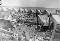 In the summer of 1900, stampeders' tents lined the beaches of Nome, Alaska.
