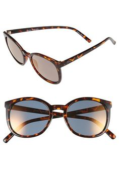Quay Australia 'Classic' 50mm Keyhole Sunglasses available at #Nordstrom
