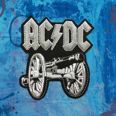 ACDC Music Band patches Iron on patch Sew on Patch Hat Patches Punk patches by FeltFabricool on Etsy