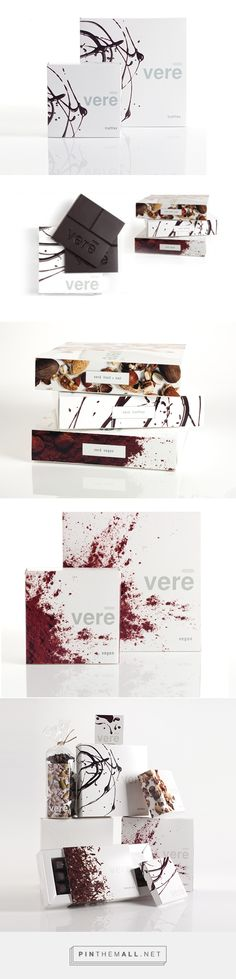 VEREGOODS   Packaging for a line of organic chocolate