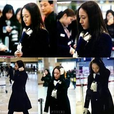 #151218 #Krystal At Gimpo Airport To Beijing @vousmevoyez Take Care Always And Get Well Soon #fxkrystal #krystaljung #fxkrystaljung #jungsoojung