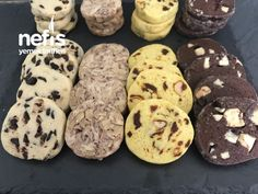 Tek Hamurdan 4 Çeşit Buzluk Kurabiyesi ( Videolu) - Nefis Yemek Tarifleri - galletas - Las recetas más prácticas y fáciles Cookies And Cream Cake, Cake Cookies, Types Of Ice Cream, Good Food, Yummy Food, Delicious Recipes, Food Articles, Dough Recipe, Cookie Decorating