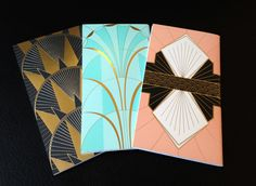 these are notebooks, but i love them for formats of invites, tables numbers, programs, etc...