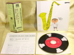 CD/Japan- DEXTER GORDON Daddy Plays The Horn 1955 mini-LP w/OBI RARE COCY-78643