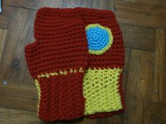 Aida made these awesome Ironman wristwarmers for me for Whedonverse 9 swap - bring on cold weather