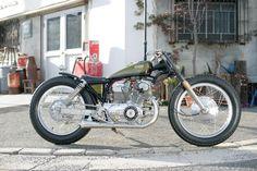 平和モーターサイクル - HEIWA MOTORCYCLE - | cb77 ancho racer (HONDA)