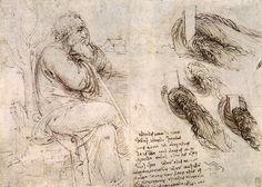 56 dessins de Leonard De Vinci dessin leonard de vinci oldmanwater 30