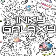 A mesmerizing coloring book that'll let your mind escape and drift away into the unknown. | 25 Space-Themed Products That'll Add Light Years To Your Life