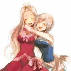 Mirajane and Lisanna Strauss. Fairy Tail. #anime
