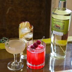 3 Cocktails to Make with Bison Grass #Vodka