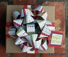 Интересные упаковки для подарков! / как красиво завернуть подарок