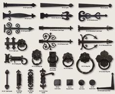 Etonnant Itu0027s Easy To Add Character To Your Garage Doors With The Elements  Collection Decorative Hardware