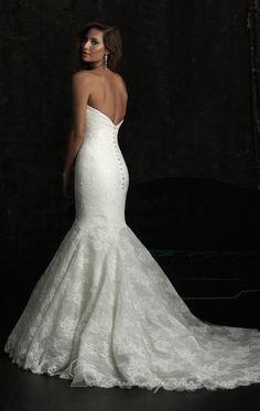 Allure Bridals 8970 - Back