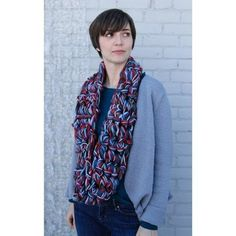 Check out Valley Yarns 594 Finger Crochet Cowl/Scarf (Free) at WEBS | Yarn.com.