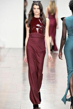 Julianne Hough wearing Emilio De LA Morena Dress.