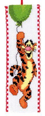 Disney Winnie The Pooh Tigger Bookmark Cross Stitch Kit