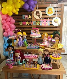 Maria Clara, Baby Disney, Party Themes, Birthday Cake, Ariel, Prince Party, Disney Princess Birthday, Tangled Party, Celebration