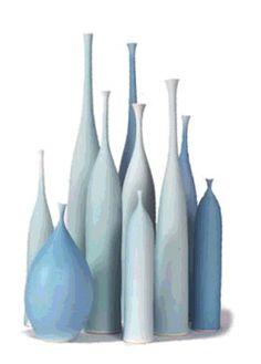 Sophie Cook :   Porcelain Bottles