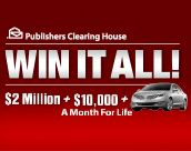 Free Online Sweepstakes & Contests | PCH.com I'm a WINNA! Hey IT CAN HAPPEN! ;)