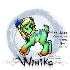 Winiko - Mint Julep - Halloweenaversary 2014 (Cirque du Diabolical) event