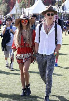 Vanessa Hudgens and boyfriend Austin Butler are Coachella fashion royalty on Day Three