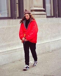 "Carolyn Bessette Kennedy HD on Instagram: ""• •February 26, 1995 •NYC •Photo Credit: Lawrence Schwartzwald #CarolynBessetteKennedy #CarolynBessette #Kennedy #CBK #JohnFKennedyJr…"""