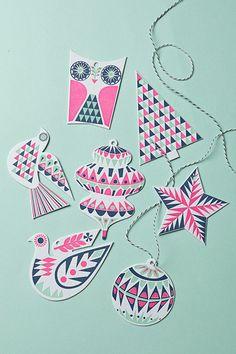 Los patrones geométricos sobre print son tendencia en decoración en Navidad 2015…