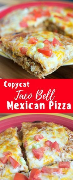 Copy cat Taco Bell Mexican Pizza Recipe / Mexican Pizza / Copycat Taco Bell Recipe via @clarkscondensed