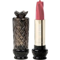 ANNA SUI COSMETICS Star-shaped lipstick (115 PEN) ❤ liked on Polyvore featuring beauty products, makeup, lip makeup, lipstick, coral lipstick and rose lipstick