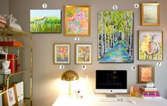Interior Inspiration: Office Art