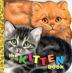 """Little Golden Book """"The Kitten Book"""""""