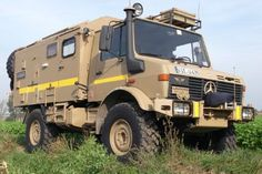 Unimog 435 U1300L Ambulance Camper Conversion