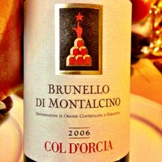 2006 Col d'Orcia Brunello di Montalcino - an exceptional vintage for Brunello, this wine was approachable yet structured and complex. A great pairing for my Pici al Ragu while lunching in Montalcino.