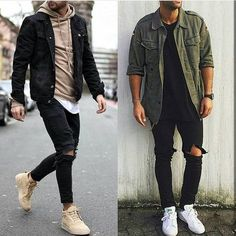 DIY Fashion Ideas – What you Need to be Creative – Designer Fashion Tips Best Mens Fashion, Diy Fashion, Autumn Fashion, Stylish Men, Stylish Outfits, Men Casual, Style Masculin, Men With Street Style, Outfit Grid