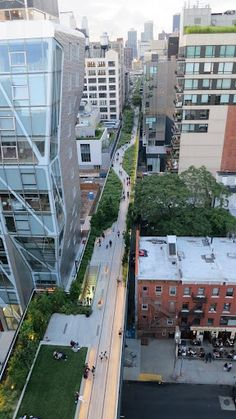 NYC Highline - garden park built on top of an old L train Go To New York, New York City, Urban Landscape, Landscape Design, Landscape Architecture, Architecture Design, Highline Park, Parque Linear, Sustainable City