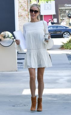 Kristin Cavallari from The Big Picture: Today's Hot Pics  Coffee break!  The fashion designer is spotted in Los Angeles.