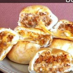 Cheesy Taco Buns Recipe   Just A Pinch Recipes