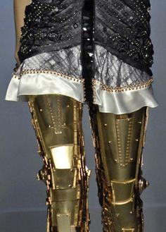 The killer robot leggings Balenciaga SS07 that struck my heart! | London Fashion Chronicles