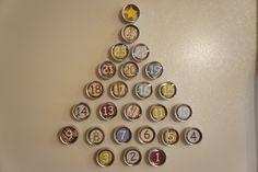 Christmas advent countdown {2011}